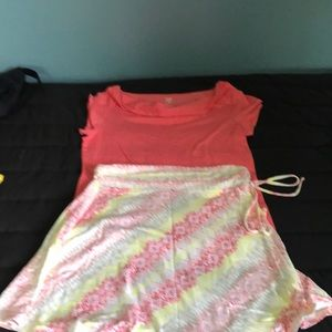 Patagonia skirt size m and title nine shirt size M